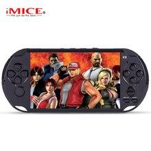 Imice 5.0 большой Экран портативных игровых консолей плеер Поддержка ТВ из положить с MP3/кино Камера Мультимедиа Видео игры консоли
