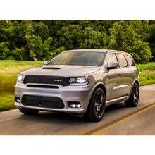 4 Стикеры для ПК на автомобилях интерьерная внутренняя дверная ручка атмосферная лампа для Dodge Durango Дротика Зарядное устройство Путешествие Challenger Grand Caravan