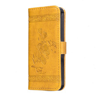 Side Open Magnetic Close 6 Colors Leather Cover For Iphone6 Flip Phone Case For Iphone 6