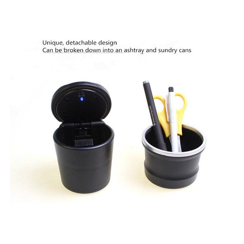 Cendrier lampe à LED Portable pour Mitsubishi asx lancer x 10 9 outlander xl pajero 4 sport carisma voiture accessoires|Autocollants De Voiture| |  -