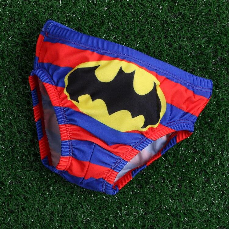 3-6T Chłopięcy Batman Deska Krótkie Stroje Kąpielowe Dzieci - Ubrania dziecięce - Zdjęcie 1