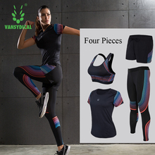 Women's Compression Sets Shirts Jackets Bras Shorts Pants for Yoga Joggers