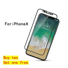 Screen Protector for iPhone X Stronger Tempered Glass Protector for iPhoneX 10 6D inch free shipping HD Anti-Blu-ray film 2.5D 100 pcs dental x ray film size 30 x 40mm for dental x ray reader scanner machine