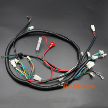 Engine Wiring Harness Wire Loom for GY6 125cc 150cc Quad Bike ATV Buggy 6-pin Round edge CDI E-Moto