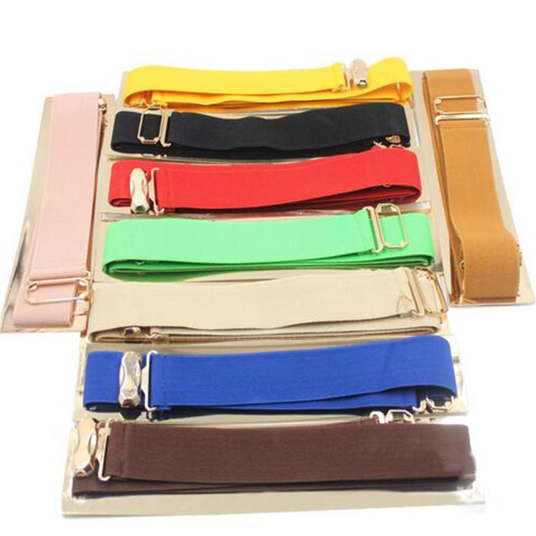 Elastic Metal Mirror Golden Sequins Waist Belt Waistband Stretchy Elastic Solid Waist Belts Cummerbund For Apparel Accessories