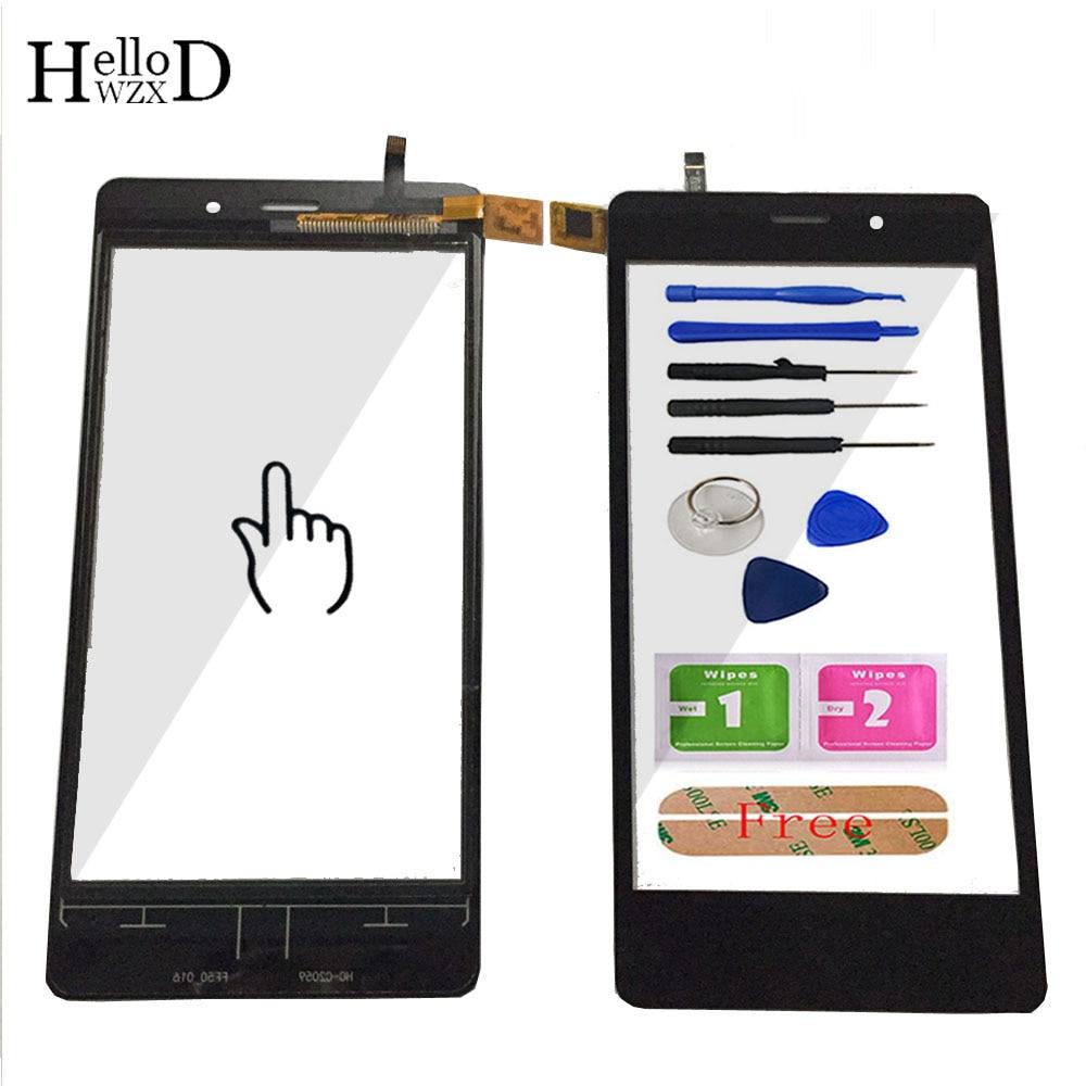 5,0 ''мобильный телефон сенсорный Стекло для Nomi i502 Сенсорный экран Стекло планшета Панель объектив Сенсор инструменты Бесплатный клей