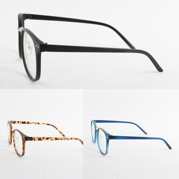 Moda Unisex Marea Gafas ópticas Marco redondo Anteojos Metal Arrow - Accesorios para la ropa - foto 2