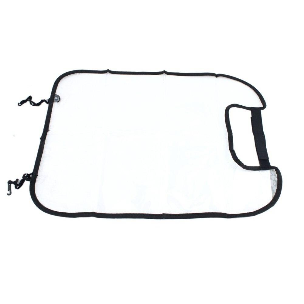 Siège arrière de couverture de protecteur de dos de siège automatique de voiture pour le tapis de coup de pied de bébés d'enfants protège de la qualité de saleté de boue