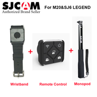 Original SJCAM SJ6 SJ7 Star Accessories Selfie Stick Remote Monopod Wrist Remote watch For SJ CAM SJ6 SJ7 Star Action Camera