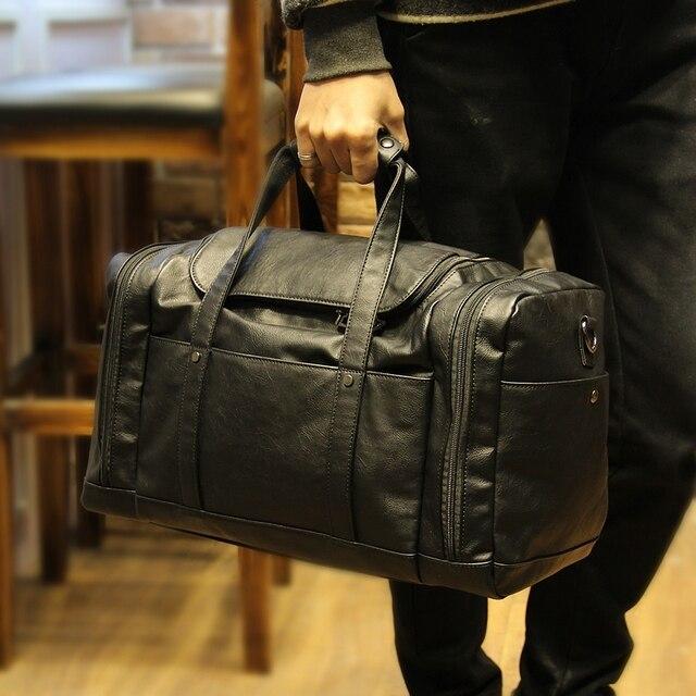 Сяо. P новый искусственная кожа Для мужчин с дорожные сумки большой Ёмкость Для мужчин Курьерские сумки Туристические сумки для путешествий бренд Для мужчин сумки на ремне XP013