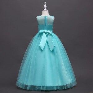 Image 2 - Mới Công Chúa Bé Gái Váy Đầm Ren Hoa Bé Gái Váy Đầm Voan Bé Gái Cuộc Thi Áo Đầu Tiên Hiệp Thông Đầm Đảng Đồ Bầu