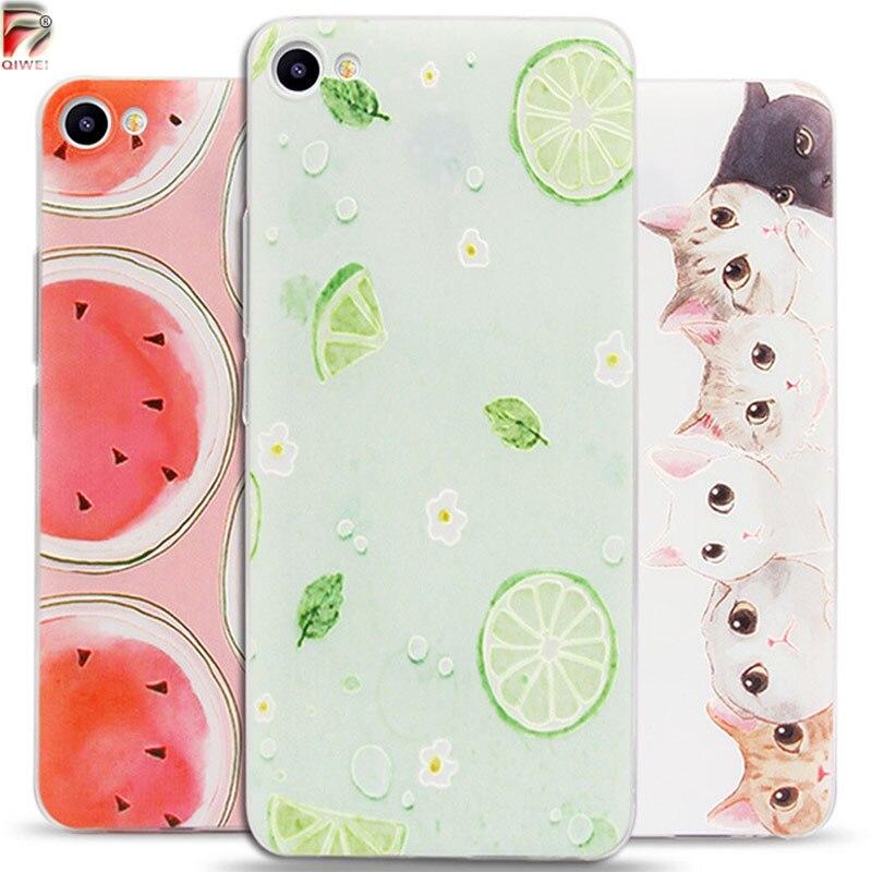 Casos de Teléfono de silicona Para Meizu Caso S20 Ultra Thin 3D Fruta Linda pais