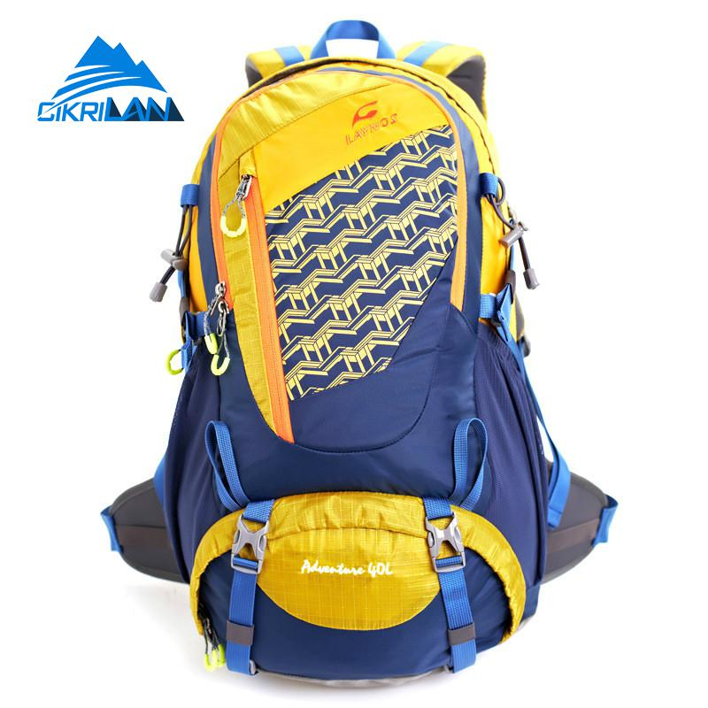 ФОТО Hot Sale 40L Unisex Mochila Camping Outdoor Sport Bags Women Men Rucksack Water Resistant Climbing Backpack Tactical Sports Bag