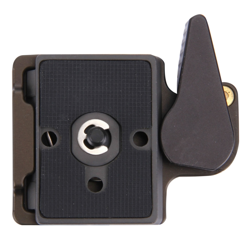 FITTEST Quick Release Clamp Adapter for Camera Tripod DBC-1 Aluminium Alloy 1/4 Screw Adapter 200PL-14 Quick Release Plate