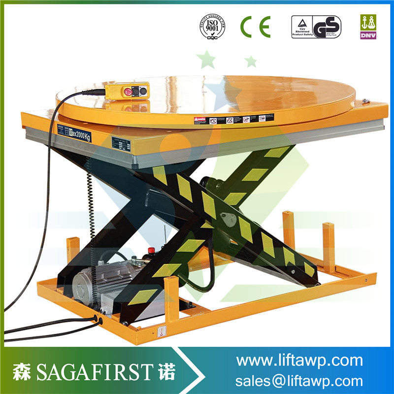 Scissor Lift Table 1m To 4m Platform Height Customize Available