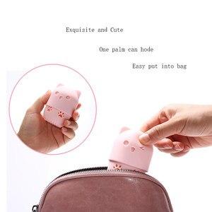 Image 2 - Yavru güzellik tozu puf toz geçirmez tutucu sünger makyaj yumurta kurutma çantası taşınabilir yumuşak silikon kozmetik taban sünger kutu tutucu