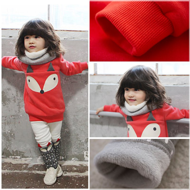 Autumn-Winter-Warm-1-4Y-Kids-Baby-Clothes-Sets-Long-Sleeve-Sweater-Suits-Thick-Velvet-Cartoon-1