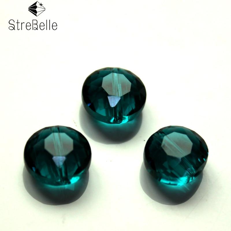 StreBelle Facetada cristal Austríaco beads 50 pcs 10mm AAA qualidade de vidro de cristal Solta pérolas fazer Jóias pulseira