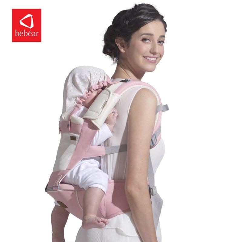 Bebear porte-bébé C05 ergonomique infantile enfant bébé hanche siège fronde avant face ceinture écharpe porte-bébé pour bébé voyage en plein air