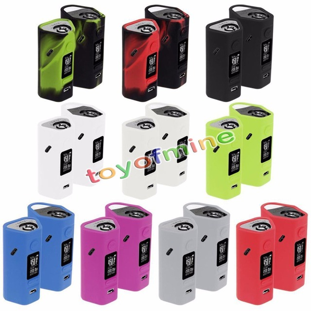 Silicone Case For RX 2/3 Reuleaux 150W 200W Vape Skin Sleeve Cover Wismec RX2/3