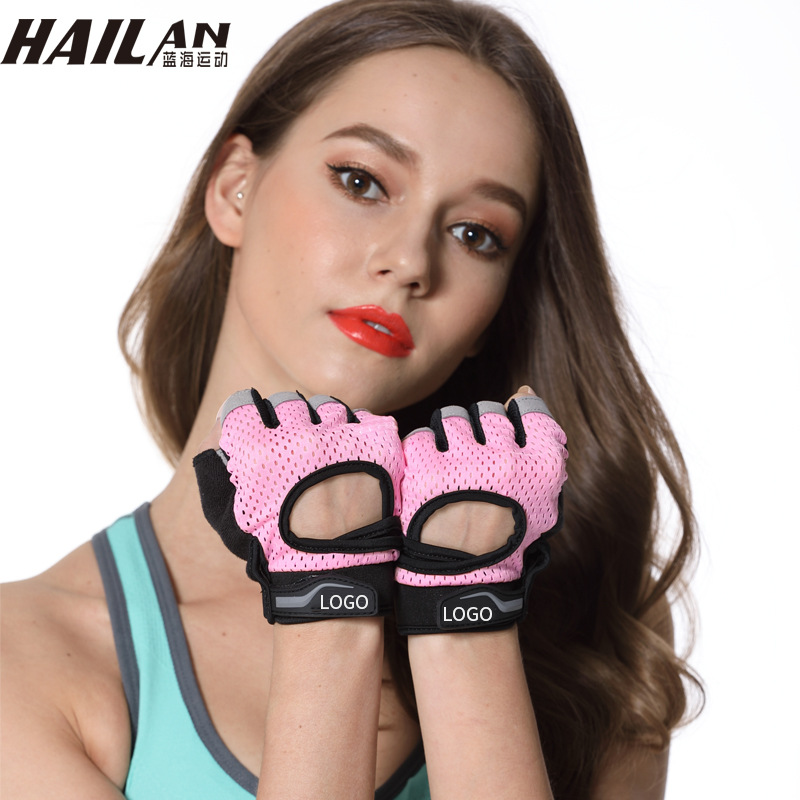 Corrector De Postura Men s And Women S Fitness Gloves Equipment Hood Riding Hollow Breathable Half - Finger Free Shipping