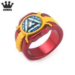Avengers Endgame Demir Adam Yüzük Ironman Ark Reaktör Işık Ringen Hediye çocuk oyuncağı Takı Hediye