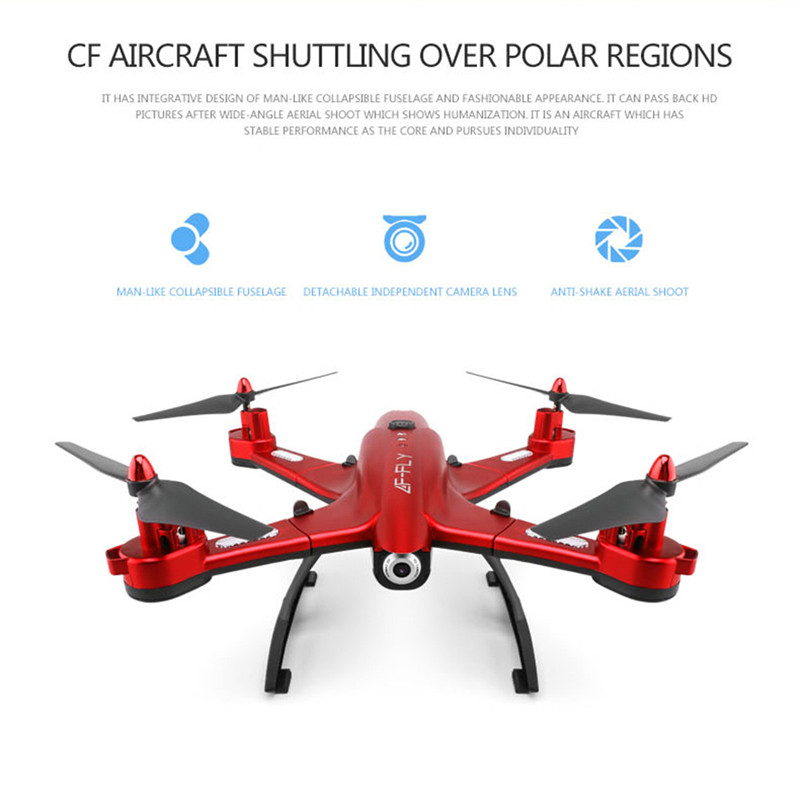 Speed four-axis 4-Channel HD Wifi Toys Professional Aerial Vehicle Remote Control Aircraft Helicopter Quadrocopter With Camera yd 712 four shaft 2 4ghz 4 channel remote control aircraft toy silver grey