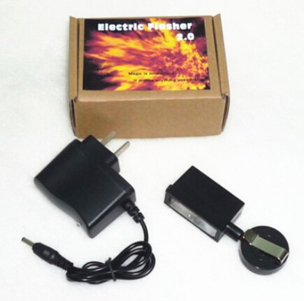 Electric Flasher 2.0,charging version - Magic trick, fire magic accessory, novelties party/jokes,close up