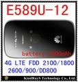 Desbloqueado huawei e589 e589u-12 lte 4g router wifi hotspot 4g fdd 2100/1800/2600/900/dd800 pk e5577 e5377 e5878 mf90 mf91 e5776