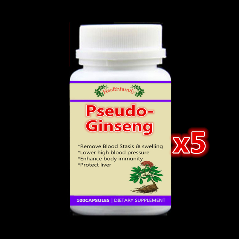 500mg 500pcs Treatment of high blood pressure Pseudo-Ginseng Extract  Remove Blood Stasis and swelling sanchi Panax notoginseng стоимость