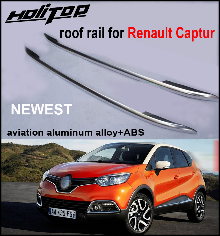 promotion for Renault Captur Kaptur aviation aluminum alloy roof rail roof rack luggage roof bar OE model, free shipping to Asia free shipping fiesta hatchback high quality aluminum roof rack luggage rack punch free 1 3 m