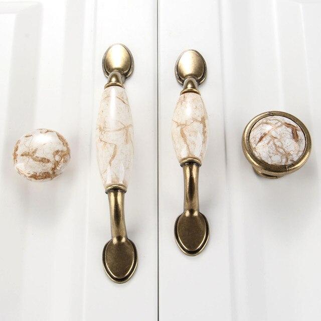 Genial Antique Furniture Handle Ceramic Drawer Door Knob Closet Cupboard Pull  Handle Cabinet Knobs And Handles Modern