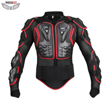 Wosawe Motorcycle Body armor Protector Motocross back support Spine Chest Guard Protective Jacket MOTO Off Road Protection Gear wosawe motorcycle armor jacket motocross body protector ghost racing riding moto protective guard armor chest back protection