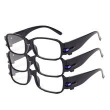 New Arrival przenośne okulary powiększające okulary do czytania prezent dla wieku lupa 100 350 400 stopni okulary Vision tanie tanio Inpelanyu Styl noszenia E1024-01