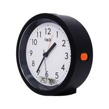 FanJu FJ5132 นาฬิกาปลุก LED Digital Movement อุณหภูมิความชื้นอัตโนมัติ Backlight โต๊ะตารางห้องนอนอิเล็กทรอนิกส์นาฬิกา