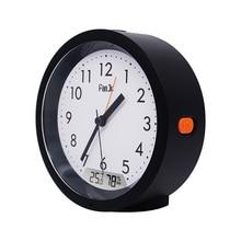 Fanju fj5132 despertador led digital movimento temperatura umidade backlight automático mesa quarto relógios eletrônicos