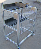 Feeder Trolley for Xpf FUJI Chip Mounter Feeder Racks assembly Storage Cart used in pick and place machine