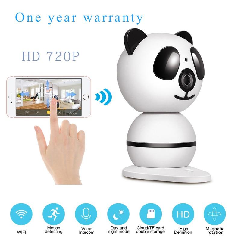 купить Home Security IP Camera Wi-Fi Wireless Mini Network Camera Surveillance Wifi 720P Night Vision Panoramic Fisheye CCTV Camera недорого