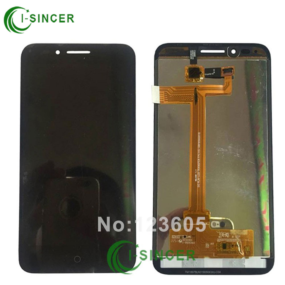 5.0 LCD Display Digitizer For Alcatel One Touch Idol Conquest 7046 OT7046 lcd Touch Screen Assemblely Black