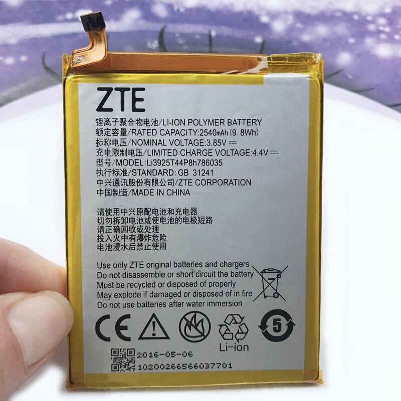 New Original 2540mAh Battery For ZTE Blade V8 BV0800 Battery
