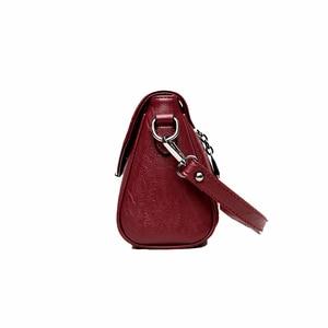 Image 2 - Women Messenger Bags ladies Crossbody Bags For Girls  Pu Leather Handbags Designer Women Shoulder Bags High Quality Solid