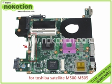 H000018570 PN 08N1-0B33Q00 For toshiba satellite M500 M505 laptop motherboard with graphics slot GM45 DDR2