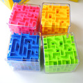 8*8*8cm 3D Maze Puzzle Cube Puzzle Speed Cube Puzzle Game Labyrinth Rolling Ball Toys Cubos Magicos Maze Ball Games