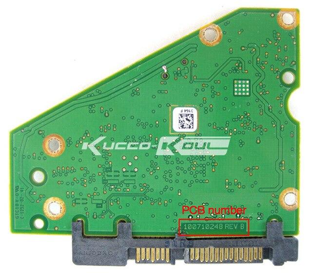 hard drive parts PCB logic board printed circuit board 100710248 for ...