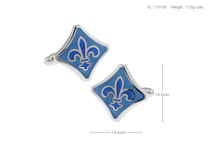 new arrival brand Cufflinks 4 color New European medieval classic decorative pattern enamel cuff links French