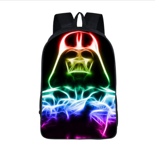 Star Wars Backpack Storm Trooper bag Jedi Sith Knight Kids Travel Bags Backpack For Teenagers Girls Boys Children School Bags