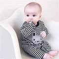 2017 chegada nova infantil roupas de bebê romper primavera outono longo-sleeved jumsuit H504 roupas bonito roupas de bebê