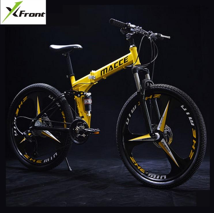 Markë e re 24/26 inç çeliku karboni rrota 21/24/27 biçikletë - Çiklizmit - Foto 1