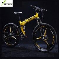 New Brand 24 26 Inch Wheel Carbon Steel 21 24 27 Speed Mountain Bike Outdoor Downhill