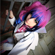 High Quality Cheap Price Anime Ao no Exorcist Blue Mephisto Pheles Cosplay Wig Synthetic Hair Party Wigs + One Ponytail